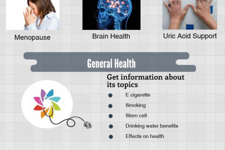 General Health Tips - Top Health Today Infographic