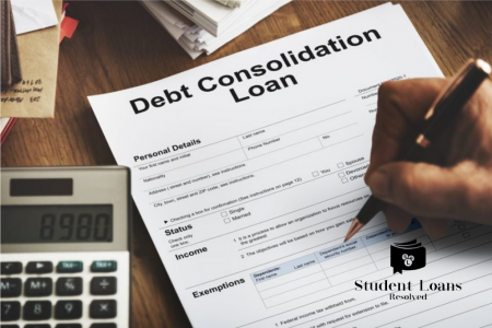 General information about debt consolidation Infographic