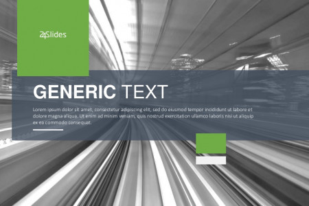 Generic Text Presentation Templates | Free Download Infographic