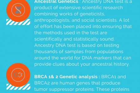 Genetic Tests  Infographic