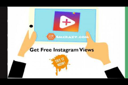 Get 1K Free Instagram Followers And Likes Instantly | Smcrazy.com Infographic