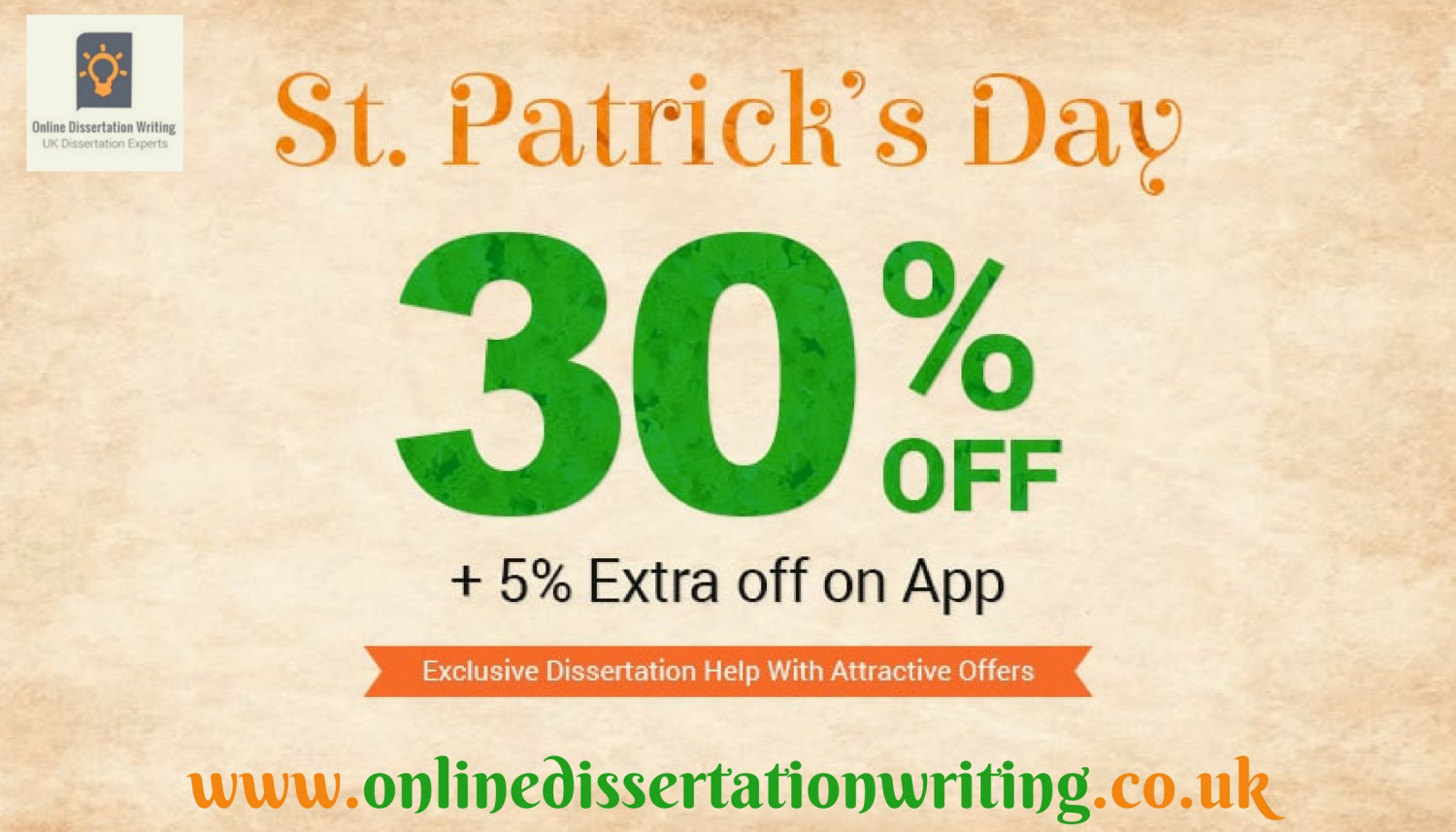 Get 30% off on dissertation orders written by Professionals of UK Infographic
