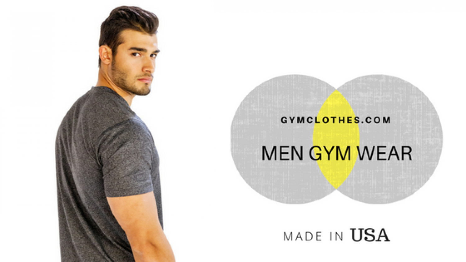 Get a Makeover Worth The Praise With Mens Gym Apparel From Gym Clothes Infographic