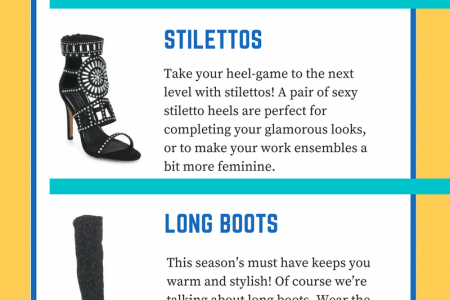 Get A Perfect Party Look This Winter Infographic