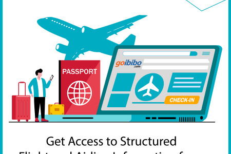 Get access to structured flight and airline information from various airline websites or aggregators. Infographic