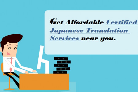 Get Affordable Certified Japanese Translation Services near you. Infographic