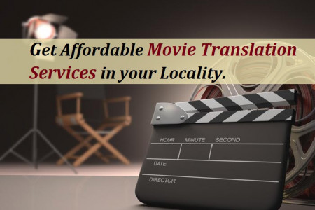Get Affordable Movie Translation Services in your Locality. Infographic