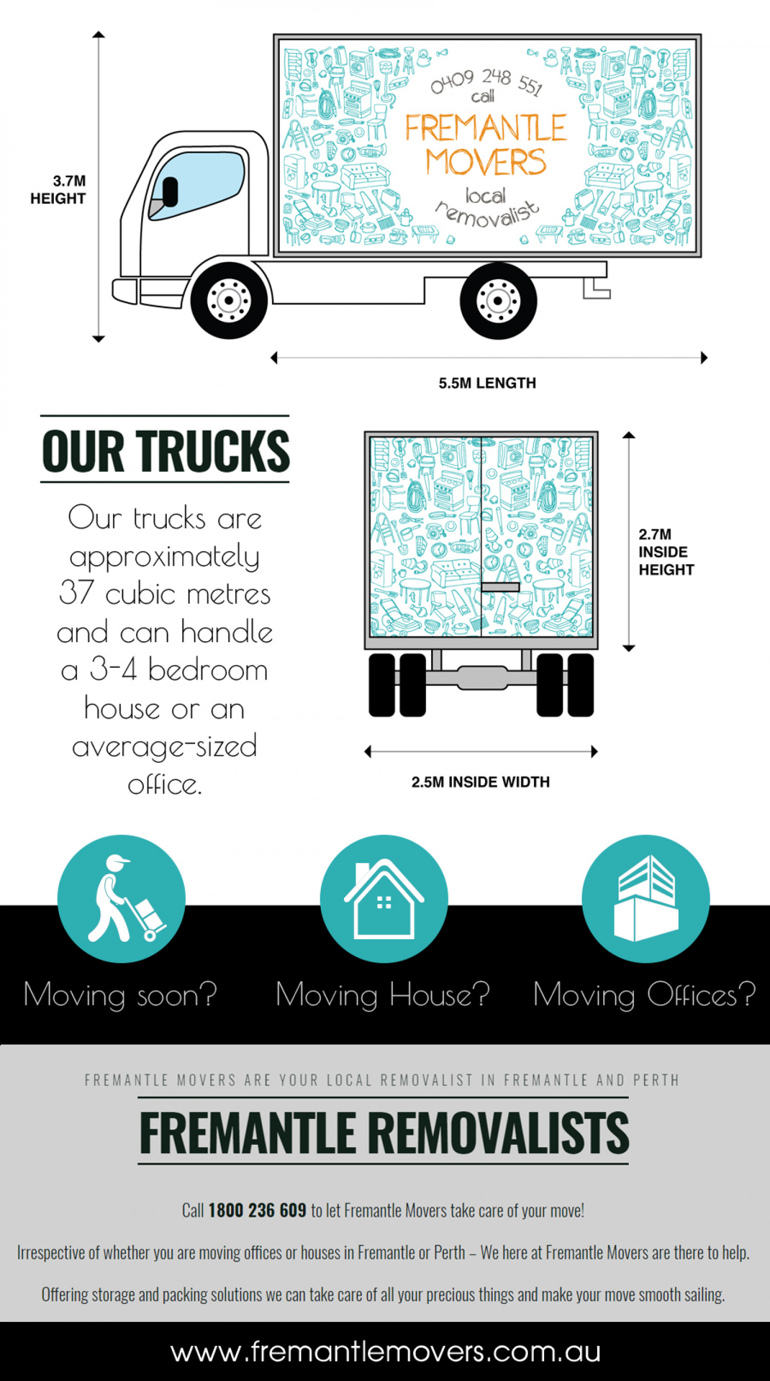 Get Assistance from the Best Perth Removalists Infographic