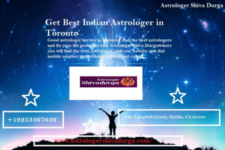 Get Best Indian Astrologer in Toronto Infographic
