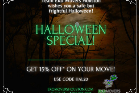 Get Best Moving Discounts Offer | Book EkoMovers Houston Infographic