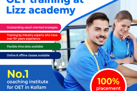 Get best OET training at Lizz academy Infographic