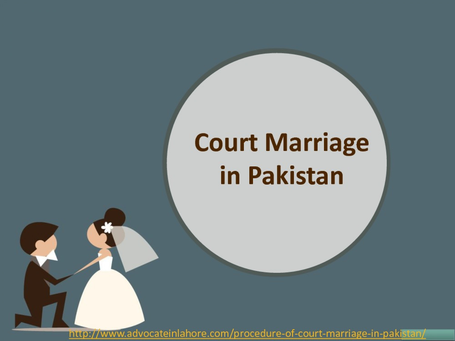 Get Brief Guide of Court Marriage Procedure in Pakistan By Simple Way Infographic