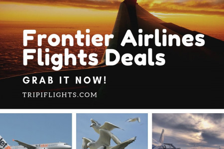 Get Deals on Frontier Airlines Tickets - Tripiflights! Infographic