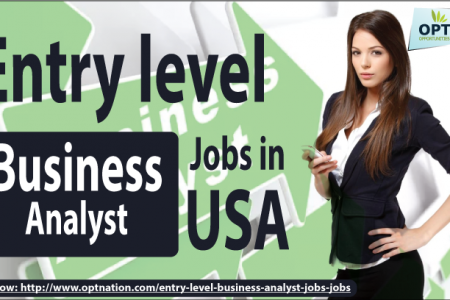 Get Entry level Business Analyst Jobs in USA Infographic