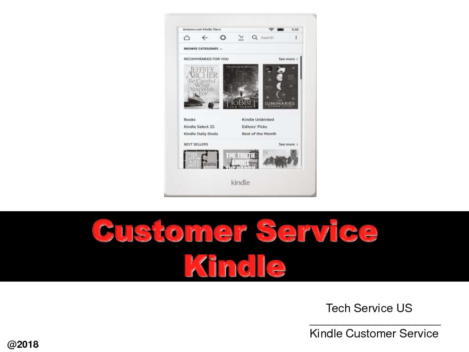 Get Instant Kindle Customer Service For Your Kindle Infographic