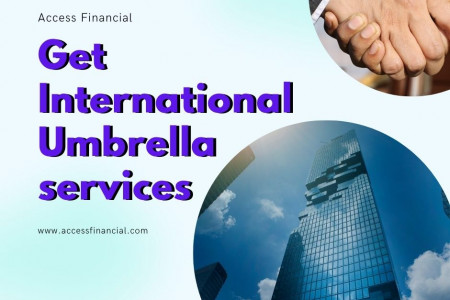 Get International Umbrella services Infographic