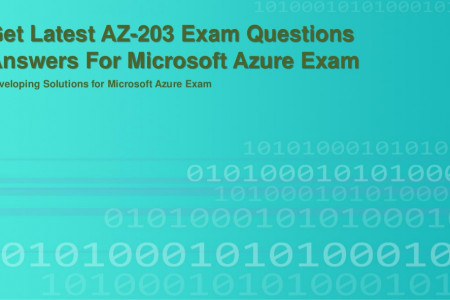 Get Latest AZ-203 Exam Questions Answers For Microsoft Azure Exam  Infographic