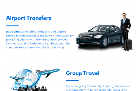 Get Limousine Services in Norwalk Infographic