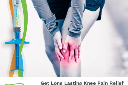 Get Long Lasting Knee Pain Relief with Single Injection of Monovisc Infographic