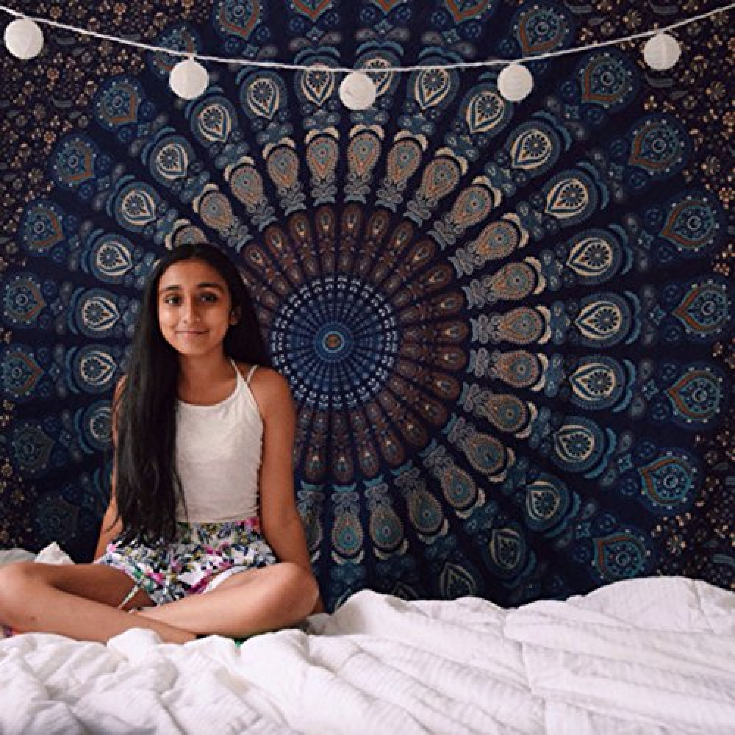 Get Mandala Wall hanging Tapestry From Handicrunch Infographic