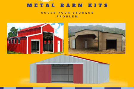 Get Metal Barns Kits From Metal Carports Direct Infographic