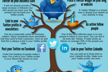 Get More Followers on Twitter Infographic