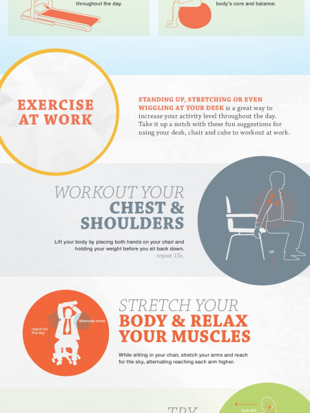 Get Moving! Avoid The Health Risks of a Sedentary Lifestyle Infographic