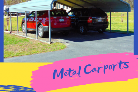 Get Prefabricated Metal Carports at Metal Carports Direct Infographic