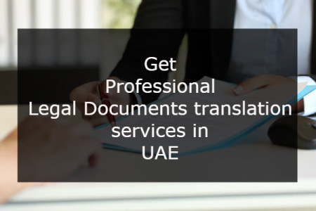 Get Professional Legal Documents translation services in UAE. Infographic