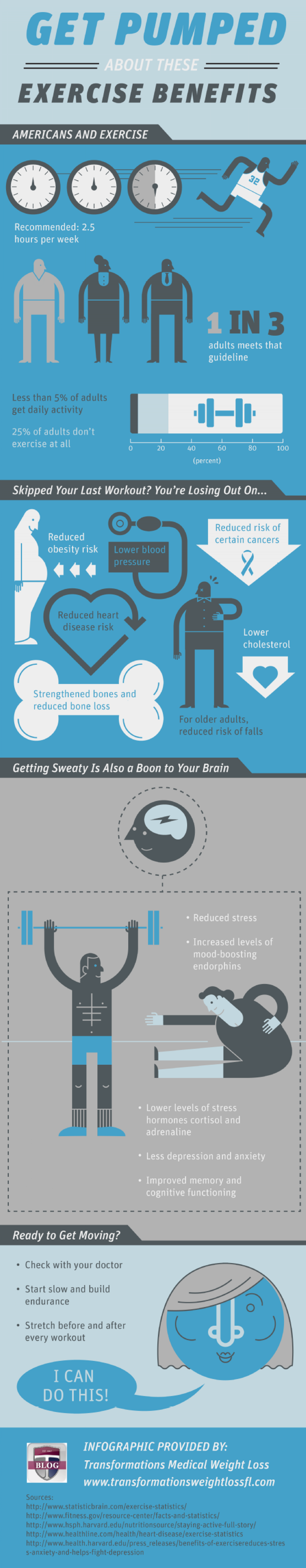 Get Pumped About These Exercise Benefits  Infographic