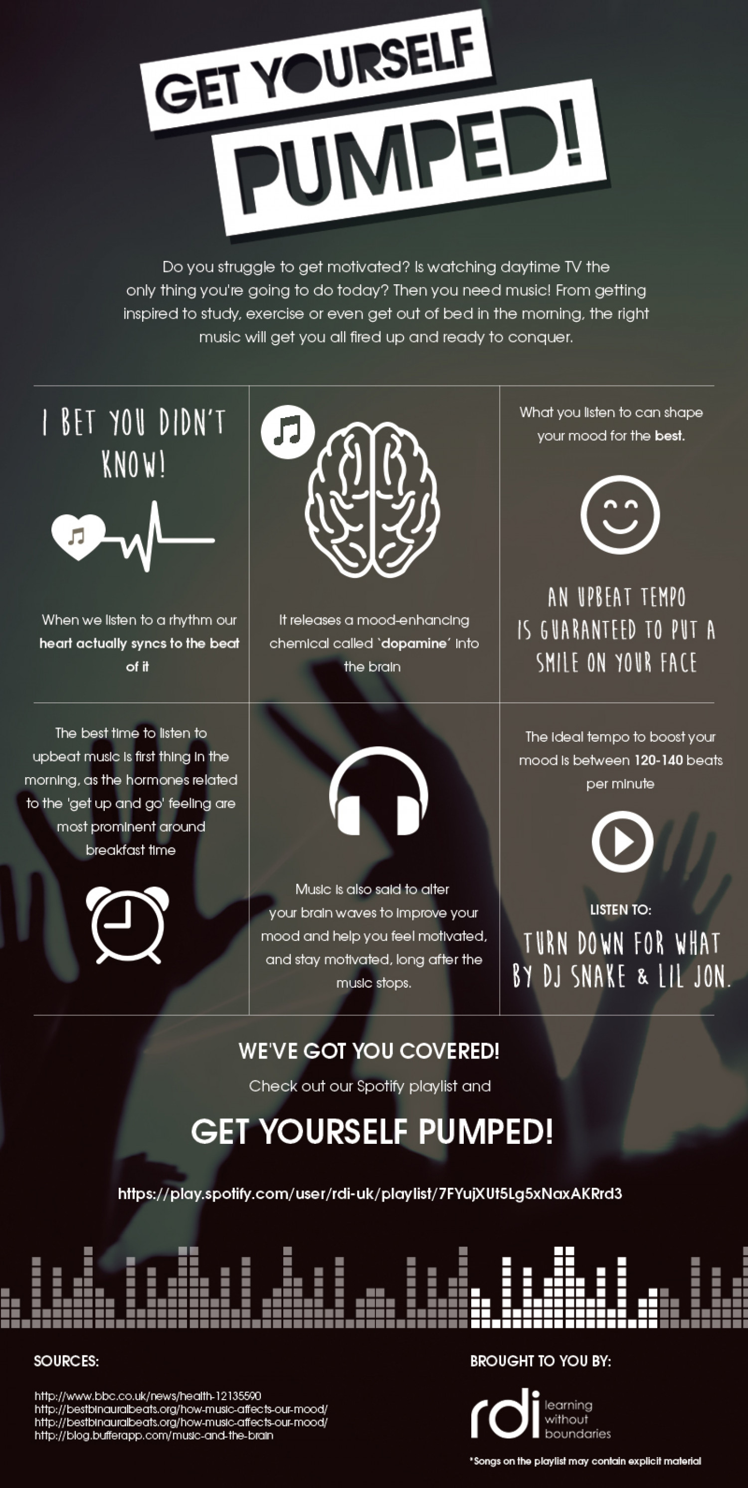 does music affect your mood Whether or not hard scientific proof exists, and even if we can only count on the placebo effects of music, the indirect effects of music, or anecdotal evidence of the power of music to affect intellect, cognition, mood, and other brain-related functions, music's positive effects cannot be understated.