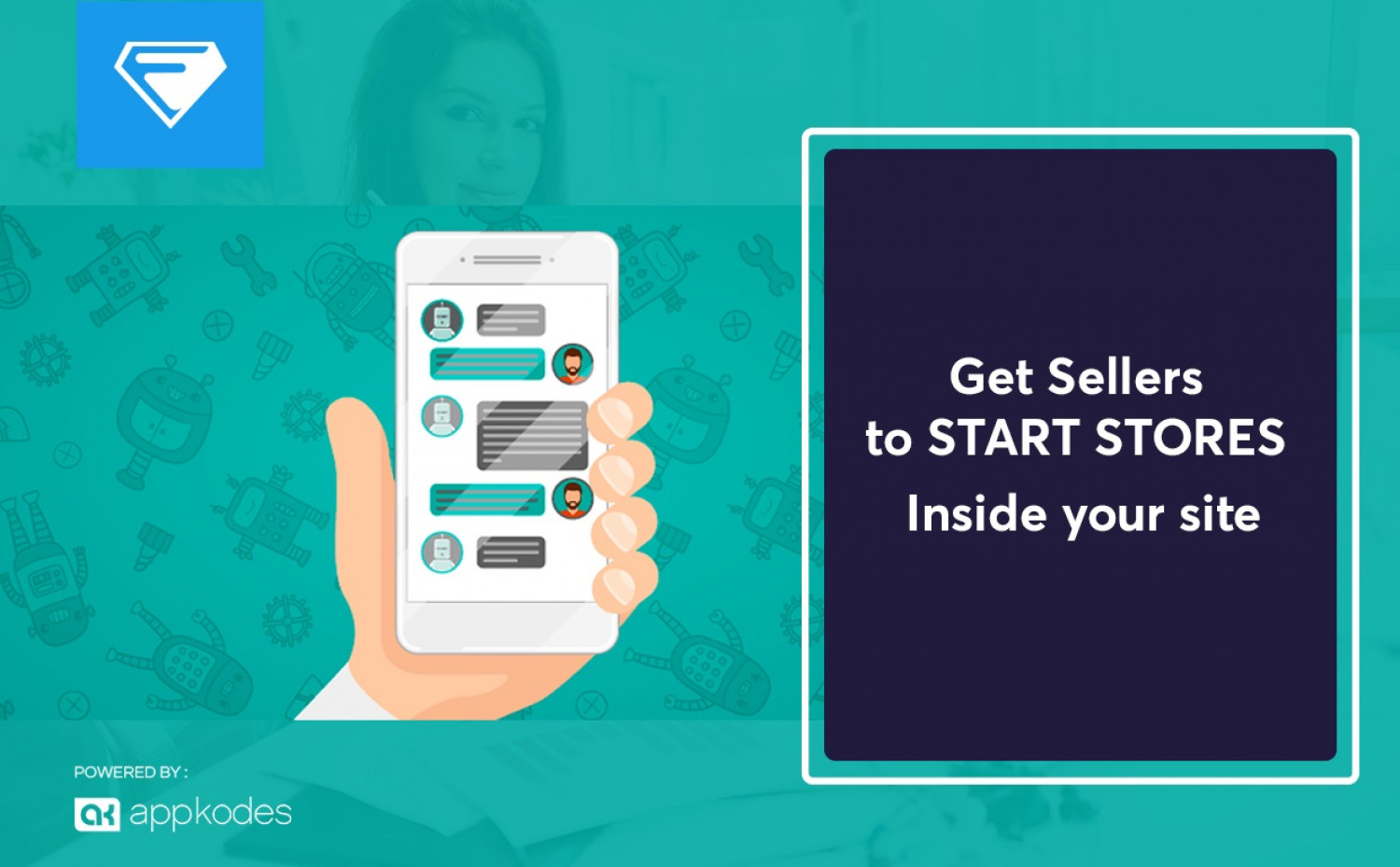 Get Sellers to start online store script inside your site Infographic