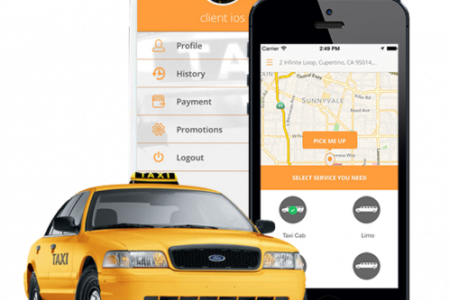 Get Taxi Mobile App Like Uber for Your Travel Agency Infographic