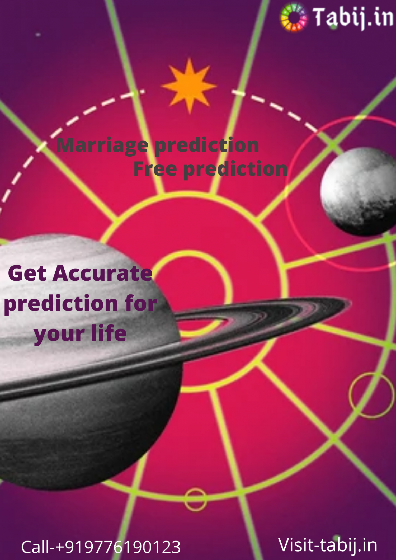 Get the best future prediction to overcome all your life problems Infographic