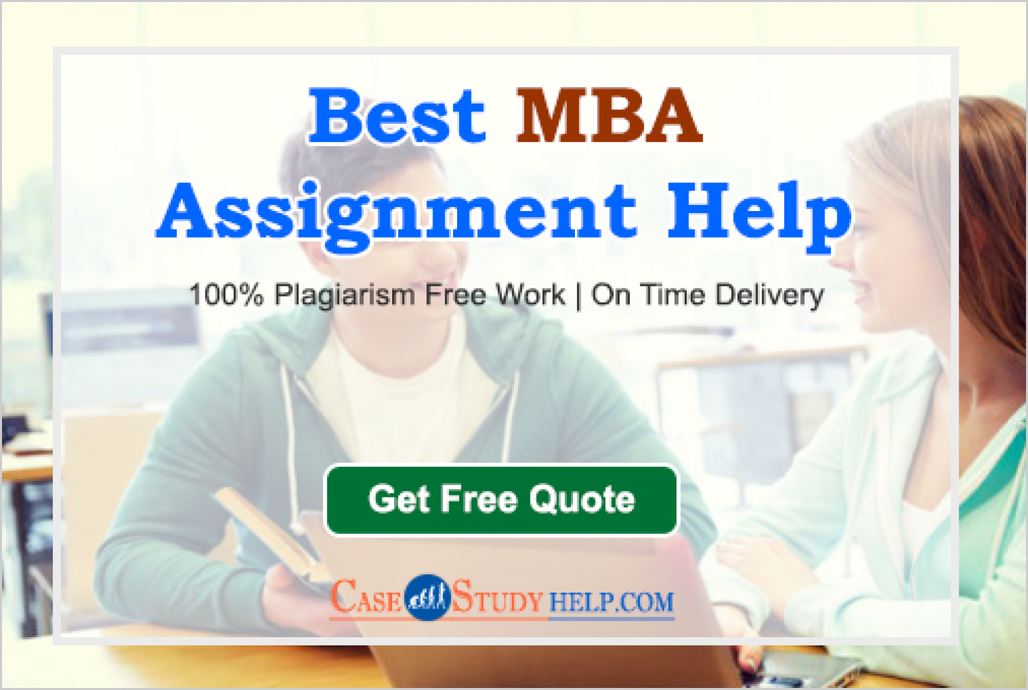 Get The Best MBA Assignment Help in Australia for Students Infographic