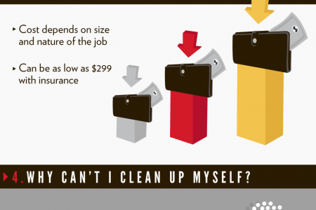 Get the Facts about Crime Scene Cleanup Infographic