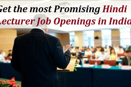 Get the most Promising Hindi Lecturer Job Openings in India. Infographic