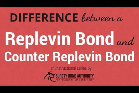 Get to know the difference between Replevin Bonds and Counter Replevin Bonds Infographic