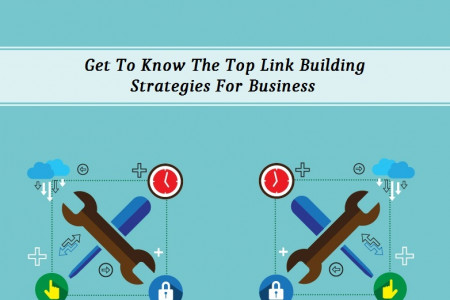 Get To Know The Top Link Building Strategies For Business  Infographic