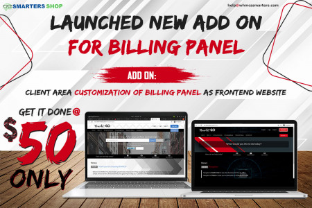 GET YOUR VPN BILLING PANEL CUSTOMIZED AS YOUR FRONTEND WEBSITE Infographic