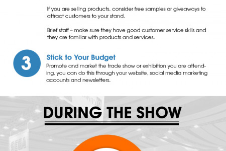 Getting the best from your trade show or exhibiton Infographic