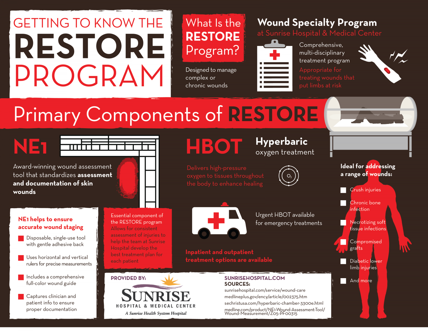 Getting to Know the RESTORE Program Infographic