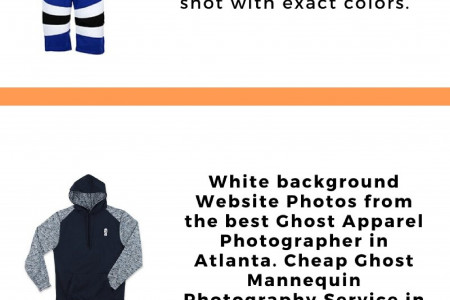 Ghost Apparel Photographer Services, Atlanta - For Low Prices - EtherArts Product Photography Infographic