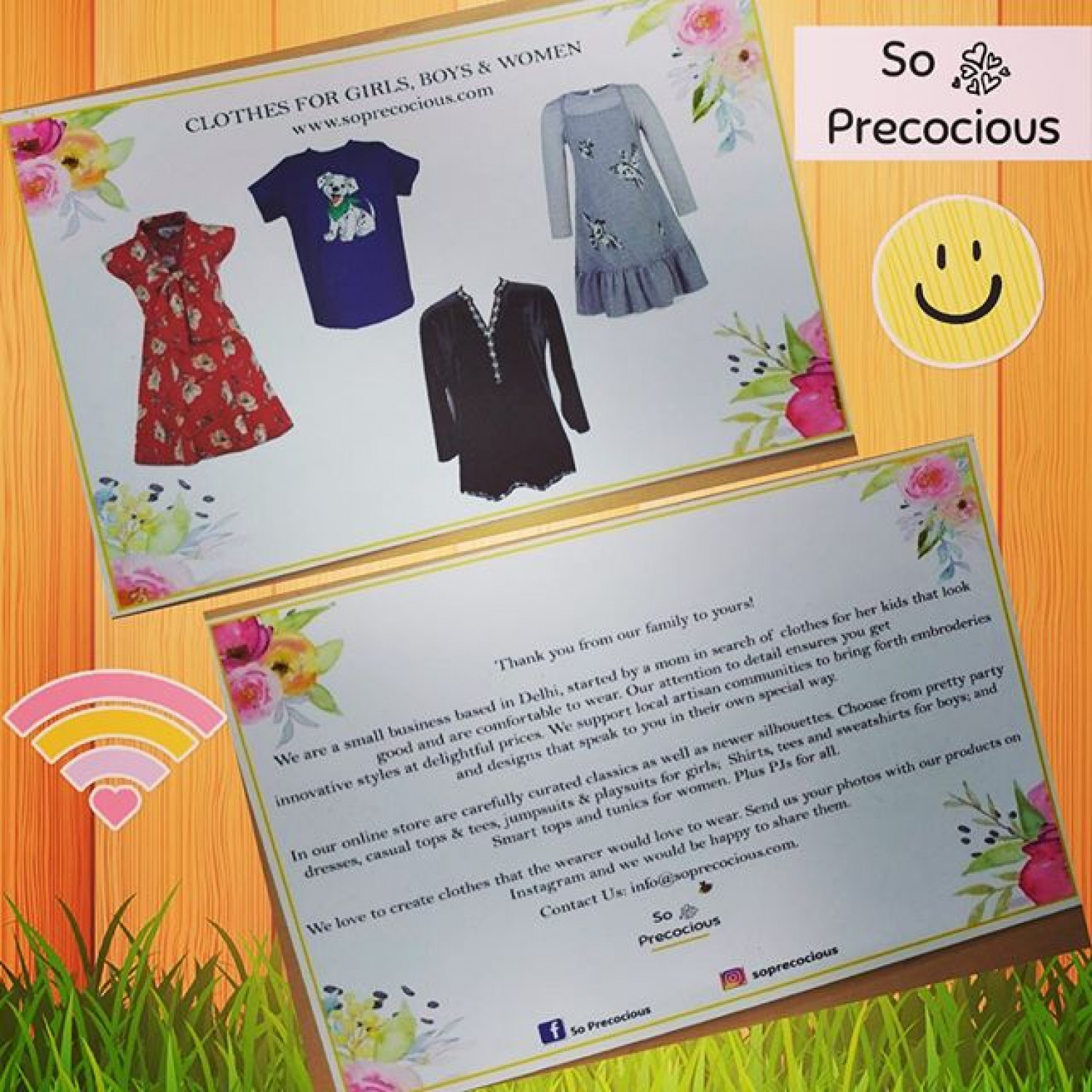 Girls Party Wear Dresses from So Precocious Infographic