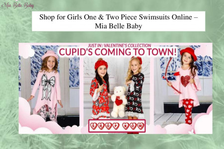 Girls Two Piece Swimsuit - Miabellebaby Infographic