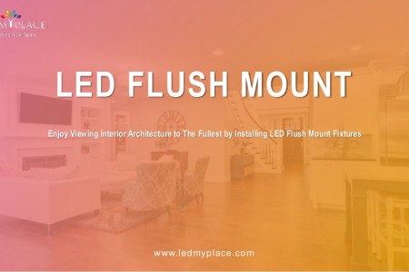 Give Immanence Interior With LED Flush Mount  Infographic