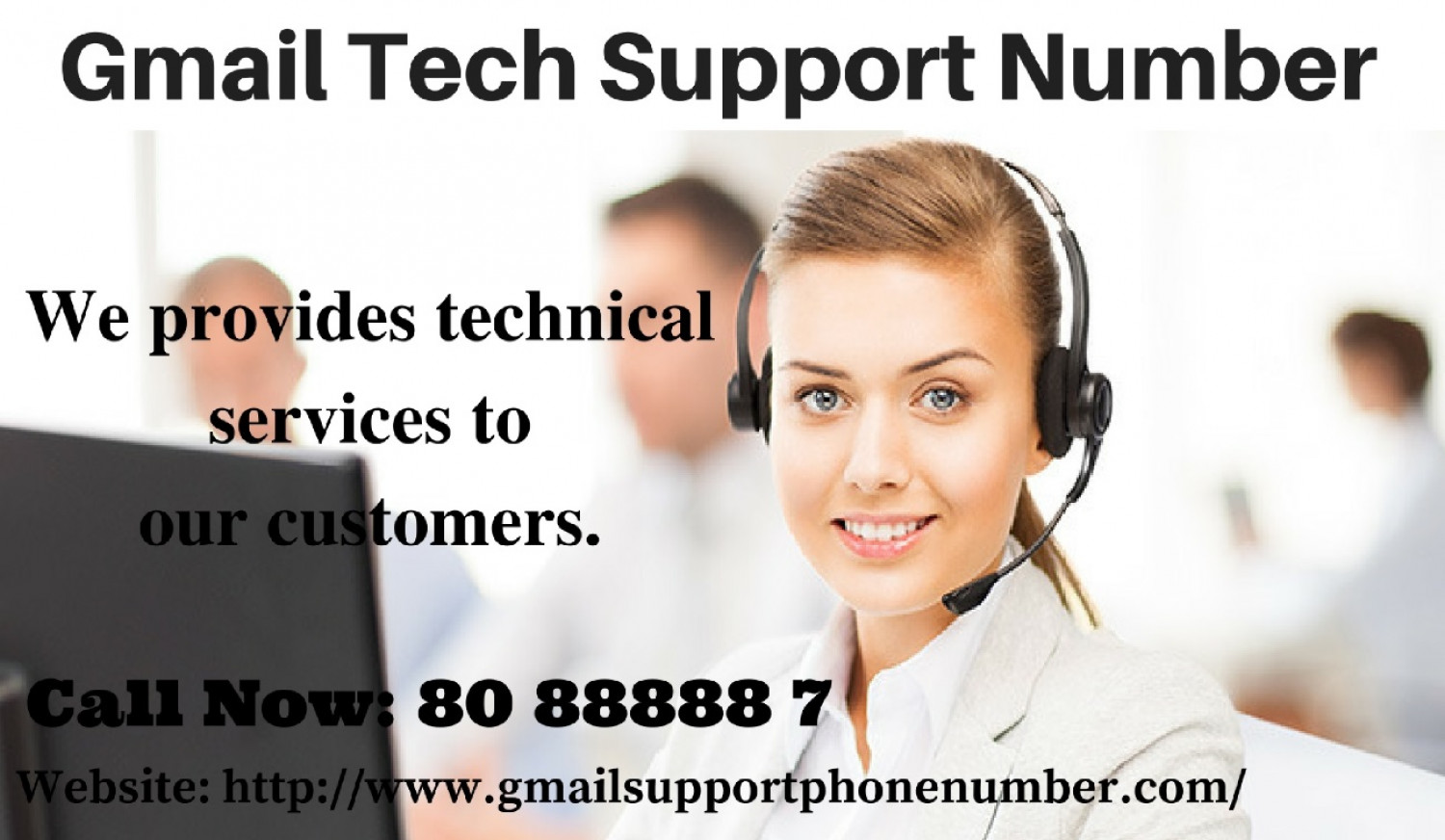 Gmail Support Phone Number Infographic
