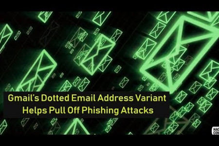 Gmail's Dotted Email Address Variant Helps Pull Off Phishing Attacks Infographic