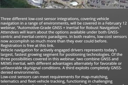 GNSS Receivers Keep Mapping Drone at Optimal Distance from Rugged Terrain Infographic