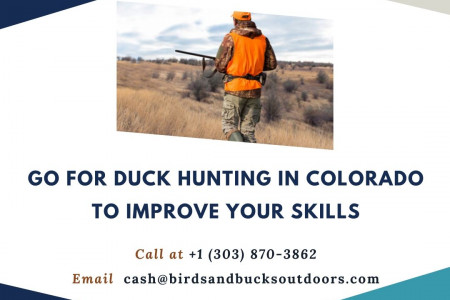 Go for Duck Hunting in Colorado to Improve Your Skills Infographic